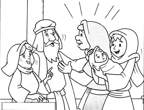 coloring pages baby jesus in the temple 17 best images about bible nt jesus in the temple on