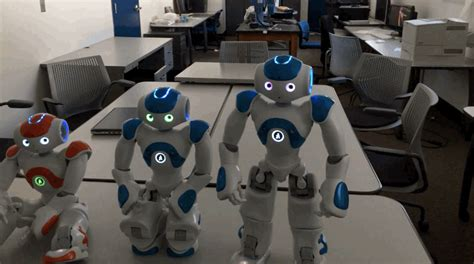 Drobo Storage Robot Is Self Aware by Nao Robot Exhibits A Moment Of Self Awareness