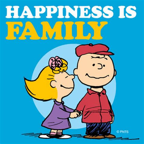 happy s day brown peanuts books peanuts on quot happiness is family http t co