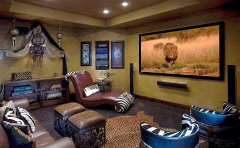 natural african living room decor ideas