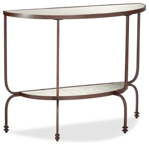 demilune console table willow demilune console table contemporary side tables