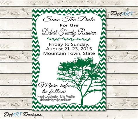 family reunion save the date cards templates 22 best images about family reunions save the date on