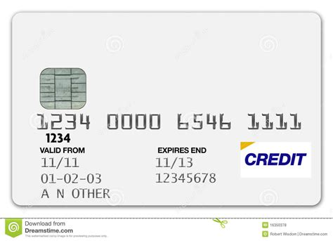 Credit Card Label Template Credit Card White Stock Photo Image Of Fall Code Platinum 16350378