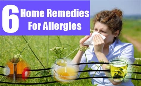 5 powerful home remedies for allergies