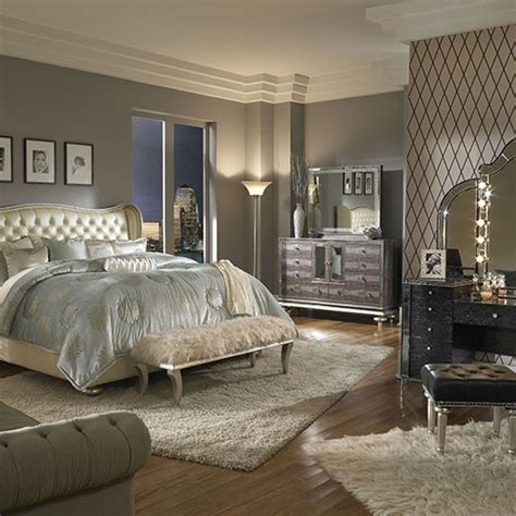 hollywood swank bedroom michael amini furniture designs