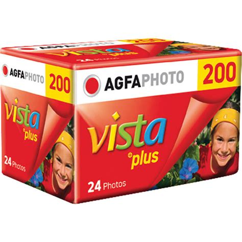 Agfa Vista 200 Fresh agfaphoto vista plus 200 color negative 1175206 b h photo