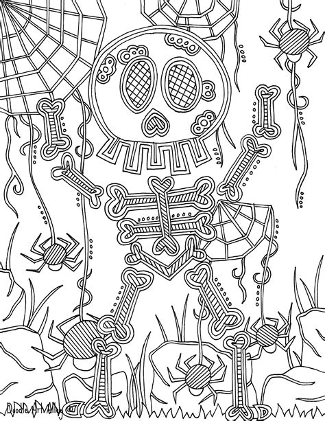 Monster Coloring pages - DOODLE ART ALLEY