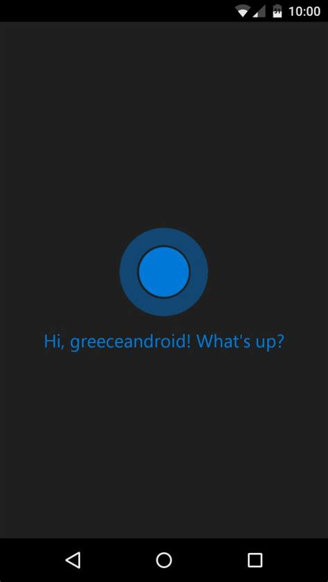 cortana app for android greece android η ψηφιακή βοηθός της microsoft η cortana έφτασε στο android