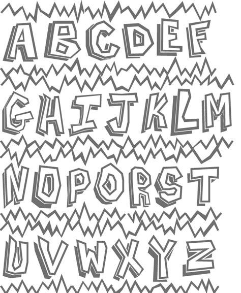 letras goticas free de letras goticas coloring pages