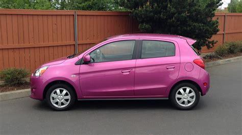 pink mitsubishi mirage image 2014 mitsubishi mirage es driven april 2014