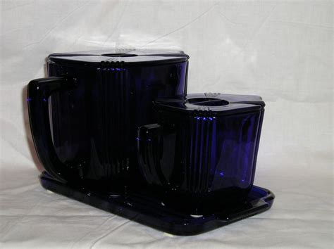 Waffle Set new martinsville no 2 waffle set in cobalt blue from aglassact on ruby