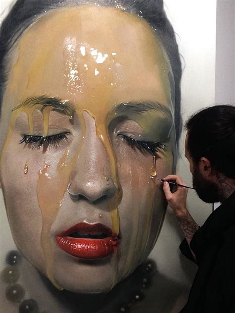 hyperrealistic art that looks like photographs of