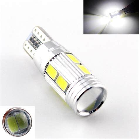Lu Senja Led Projector T10 5630 5730 10 Mata 12v 5w Warna Putih 1 car auto led t10 194 w5w canbus 10 smd 5630 5730 led light bulb no error led parking fog light