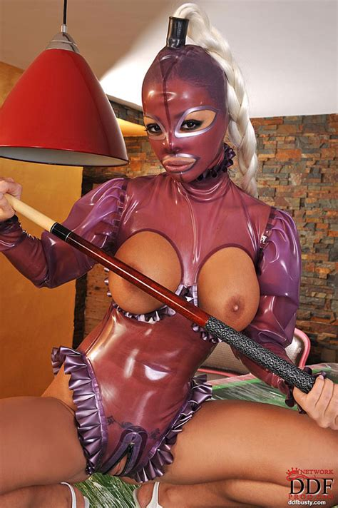 Black Angelica And Latex Lucy Costumed Lesbians Having Fun