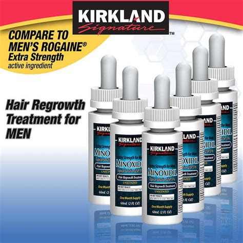 Kirkland Signature Minoxidil kirkland minoxidil hair loss treatment