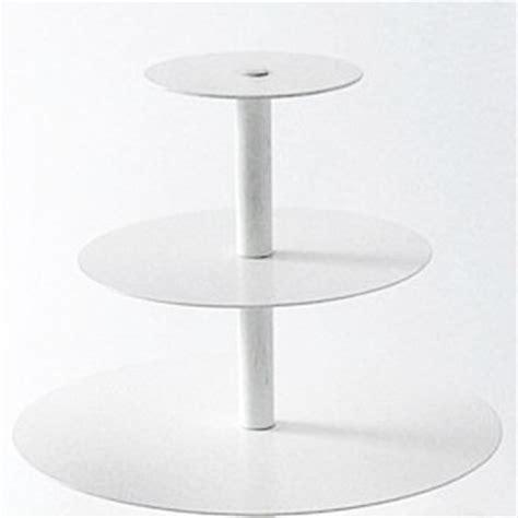 3 Tier White Cupcake Cake Stand 3 tier maypole white cupcake stand
