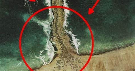 nabi musa membelah laut doovi inilah foto foto bukti nabi musa pernah membelah laut