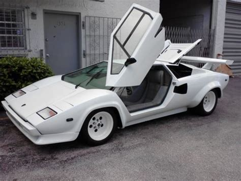 Lamborghini Chassis For Sale Buy Used Lamborghini Countach 5000s All Chassis V 8