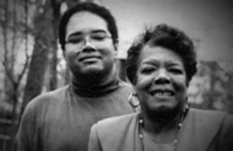 maya angelou biography in spanish maya angelou s son guy johnson on being her son