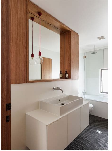 Love the mirror details and the pendant light bathrooms pinterest