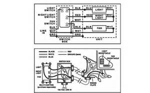 nutone exhaust fan light wiring diagram get free image about wiring diagram