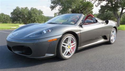 2008 ferrari f430 remove cluth sell used 2008 ferrari f430 spider collector owned highly optioned new clutch in austin