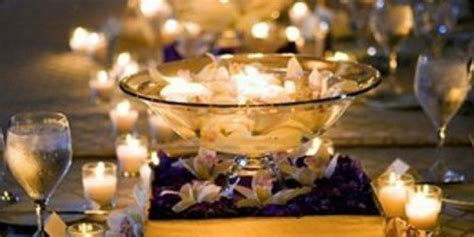 wedding table ideas no flowers 50 wedding centerpiece ideas that don t involve flowers huffpost