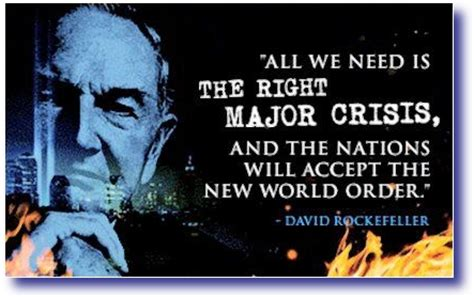 New Meme Order - all we need is the right major crisis and the nations