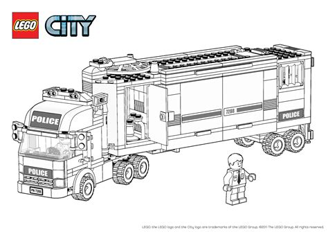 coloring page lego city free coloring pages of lego policeman