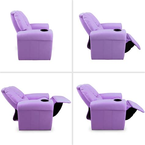 purple recliner kids recliner purple