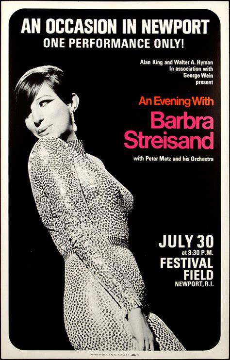 barbra streisand poster 1965 barbra streisand concert poster wish i could ve