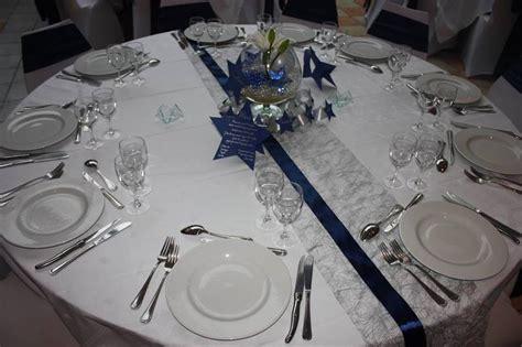 Mariage étoile argent et bleu   Anyflowers.fr