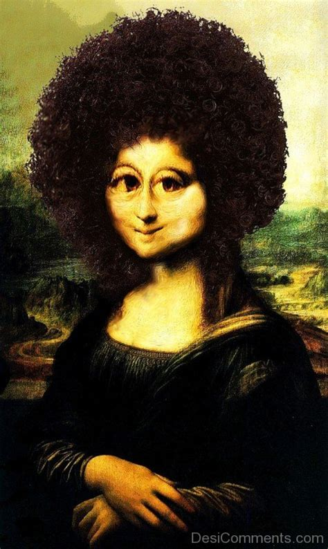 monalisa haircut story funny pictures images graphics for facebook whatsapp