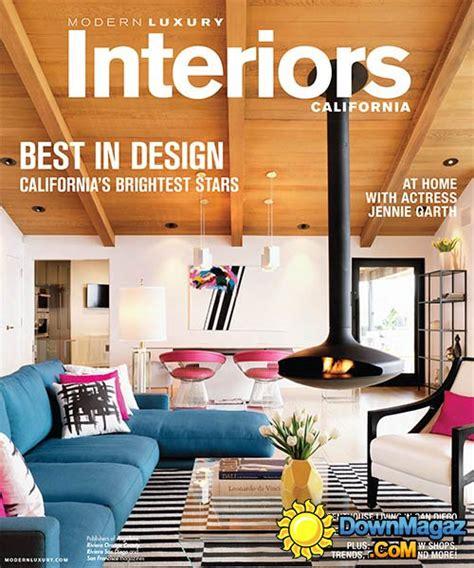 luxury home design magazine pdf modern luxury interiors california winter spring 2015