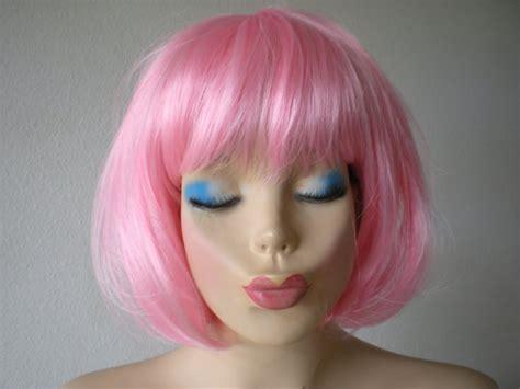 Termurah Wig Bob Pink Wig pink wig pink wig pink bob hair wig by kekewigs