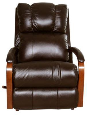 harbor town leather recliner la z boy harbor town espresso 100 leather rocker recliner