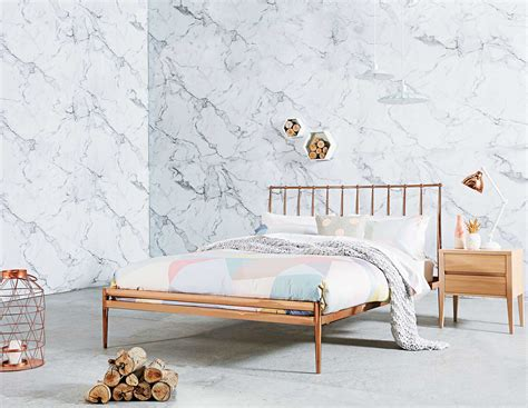 copper bed frame trend report copper crush domayne style insider