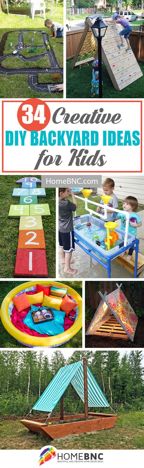 34 best diy backyard ideas and designs for kids in 2018