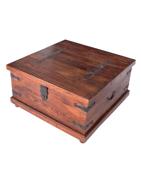 square trunk coffee table takhat large square coffee table trunk homescapes