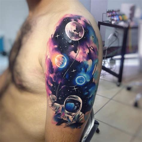 cosmic tattoos 60 creative and cool cosmic designs tattooblend