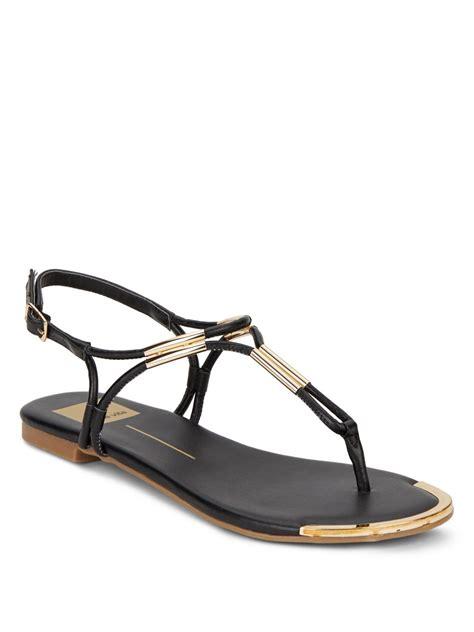 dv dolce vita sandals dv by dolce vita dainna sandals in black lyst
