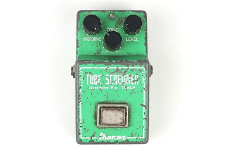 stevie ray vaughans personal ibanez tube screamer ts  reverb
