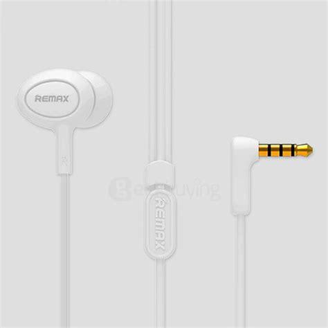 Original Remax 3 5mm In Ear Stereo Earphone Diskon remax rm 515 stereo headset 3 5mm in ear earphone with mic