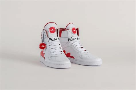 order shoes pie tops sneakers allow you to order pizza by pressing