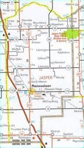 jasper county map clean lakes program jasper county