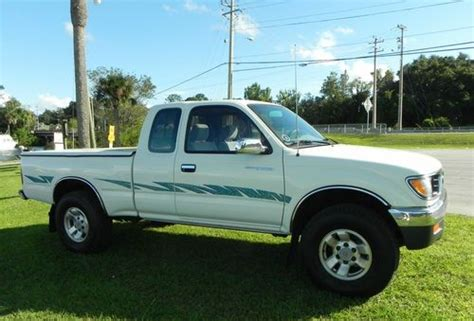 1996 Toyota Tacoma 4x4 Find Used 1996 Toyota Tacoma Ext Cab 4x4 V 6 One Owner