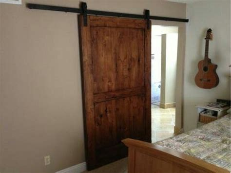 Hanging Reclaimed Barn Door House Ideas Pinterest Hanging A Barn Door