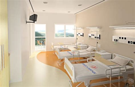 recovery room amsterdam hospital room 3d and 2d sharecg