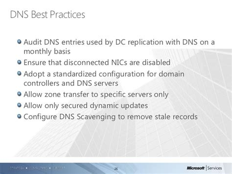 Domain Controller Dns Settings Best Practice