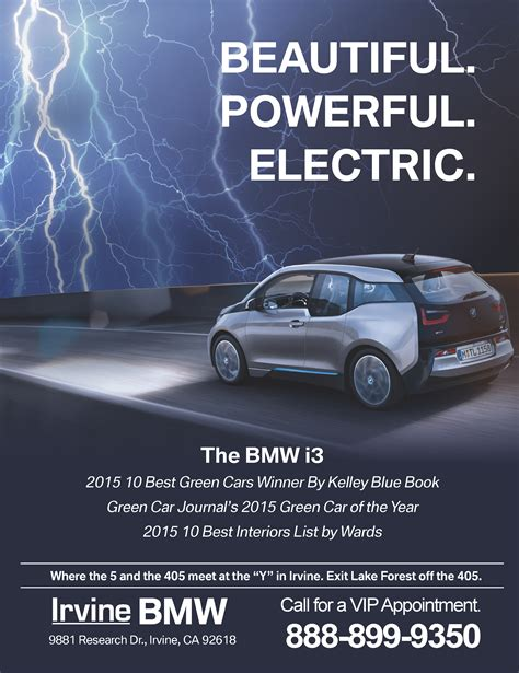 bmw magazine ads bmw i3 vegas 2 la magazine